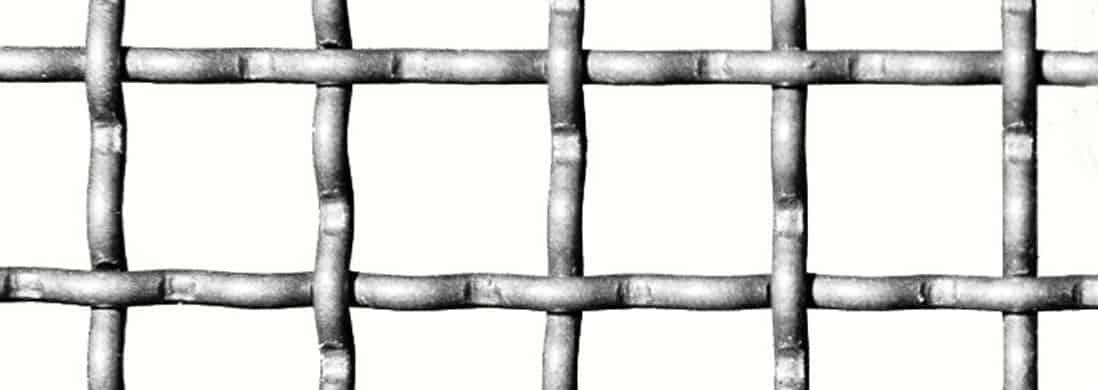 Siatki krepowane (karbowane)